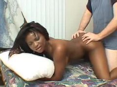 Amateur black girl and white guy go at it movies at sgirls.net
