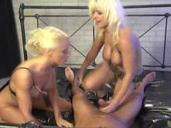 His joy is to fuck two amazingly hot blonde chicks movies at find-best-hardcore.com