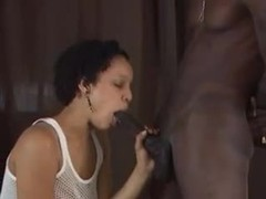 Black girl works hard to suck his bbc videos