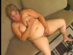 Hairy masturbating fat blonde bitch movies at lingerie-mania.com