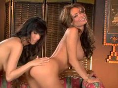 Two brunette pornstar goddesses fool around movies at sgirls.net