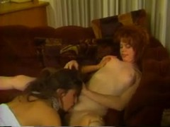 Retro lesbian porn with redhead and brunette movies at sgirls.net