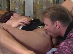 He licks her first and then fists her pussy movies at sgirls.net