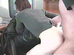 Shaved girl in loose sweater fucked tubes