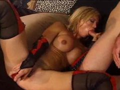Hottie in tasty stockings fucked hard videos