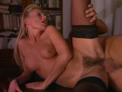 Hairy blonde european fucked up the ass videos