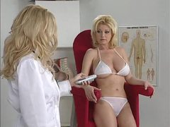 Hot doctor and her patient have big tits and look hot videos