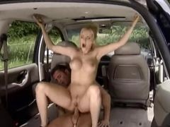 Anal sex in the back of a car videos