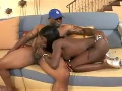Thick tattooed black guy likes that black mouth clip