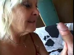 Blonde mature gives hairy guy a blowjob videos