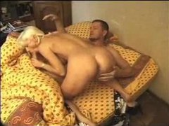 Pierced milf wakes him up with hot oral videos