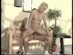 Blonde mature fucked by a guy in the gym videos