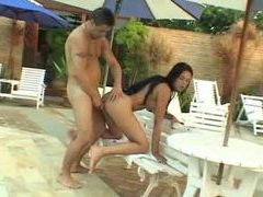 Ass fucking with tgirl by the pool movies at freekiloclips.com