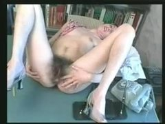 Nerdy girl is a hairy fetish dream come true movies at freekiloporn.com