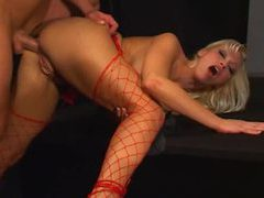 Nicki hunter fucked in fishnets videos