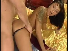 Plugging a hot tattooed european girl movies