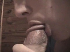 Chick really loves to suck on his cock videos