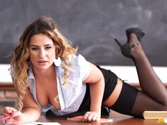 Joi dirty talk from a sexy british teacher movies at lingerie-mania.com