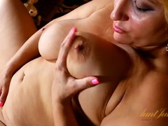 Fun and chubby milf with a gorgeous bald pussy movies at find-best-lesbians.com