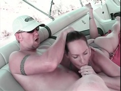 Milf slut in a bikini gets fucked on his boat videos