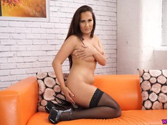 Curvy girl joi as she strips erotically videos