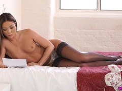 Gorgeous natalia forrest reads a dirty story videos