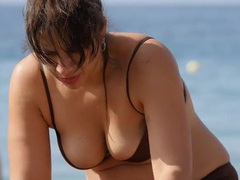 Spy on her sexy big tits on a beach day movies at find-best-hardcore.com