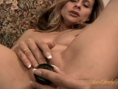 Hot and classy milf fucks her favorite dildo videos