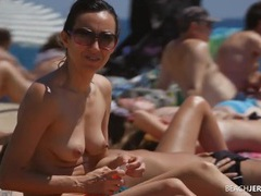 Spy on the beach films cute topless chicks movies at find-best-ass.com