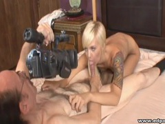 Blue eyed blonde blows the old man videos