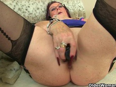 British grannies zadi and pearl in stockings with suspenders videos