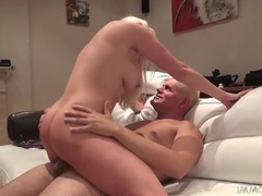 Milf blonde with amazing curves fucked hardcore videos