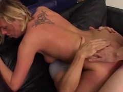 Cocks compete to get into the cunt of a blonde videos