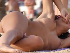 Spying on the perky tits tanning girls movies at find-best-videos.com
