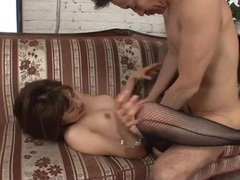Sexy fishnets make fucking the japanese girl hot videos