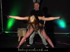 Rope bound girl fucked doggystyle by her master videos