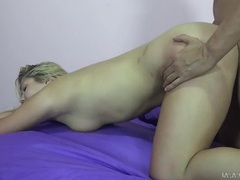 Hot view of a round ass fucked by a stiff cock videos