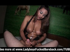 Busty ladyboy pushing her cock into mans ass movies at kilotop.com
