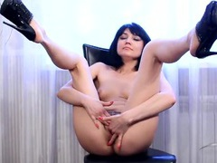 Hairy pussy solo beauty lost in masturbation movies at kilopics.net