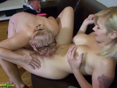 Old fat grannies love bdsm with young sweet girls compilation movies at lingerie-mania.com