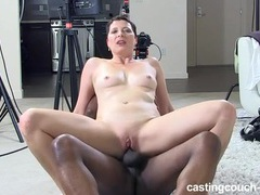 Black casting agent fucks a milf in her wet cunt videos
