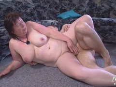 Chubby mature slut sucks his dick erotically movies at find-best-pussy.com
