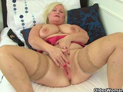 British grannies lacey starr and pearl fuck a dildo videos