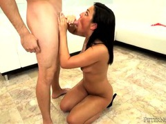 Sloppy spit soaked cocksucking babe with blue eyes movies at kilopics.net