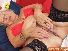 Blond-haired madam giving a blowjob videos