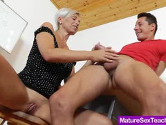 Blond-haired madam giving a blowjob movies at kilopics.net