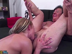 Granny rimmed out by a sexy young chick videos