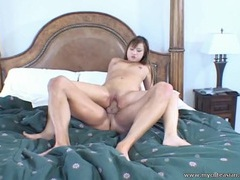 Cute asian swallows a big cock and gets fucked hard tubes at sgirls.net