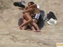 Hot couple caught having sex on the beach movies at find-best-babes.com