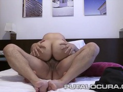 Fat hairy dude fucks a cute young slut tubes
